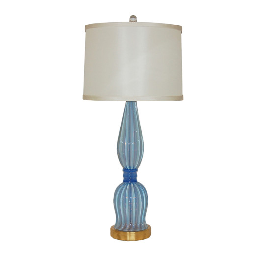 The Marbro Lamp Company - Huge Opaline Vintage Murano Lamp