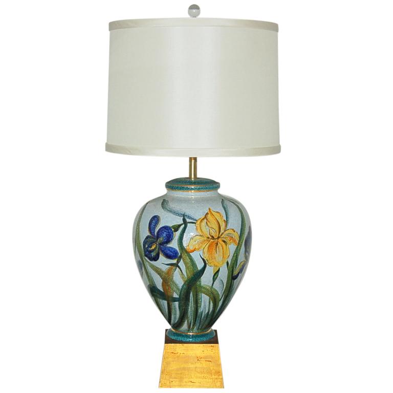 The Marbro Lamp Company - Single Monumental Ceramic Lamp