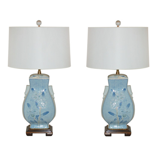 The Marbro Lamp Company - Pair of Vintage Pottery Lamps