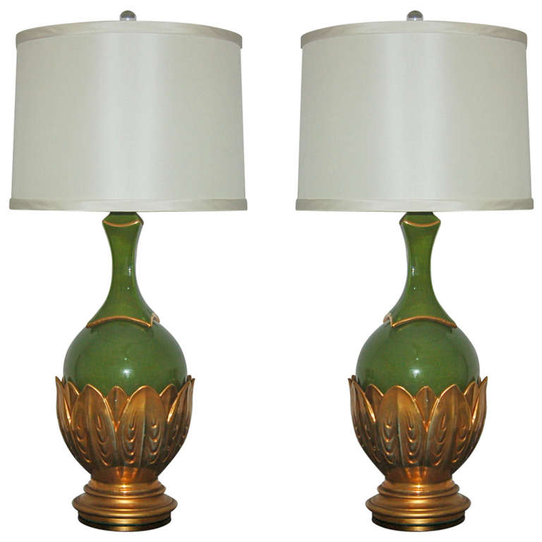Artichoke Lamps by The Marbro Lamp Company