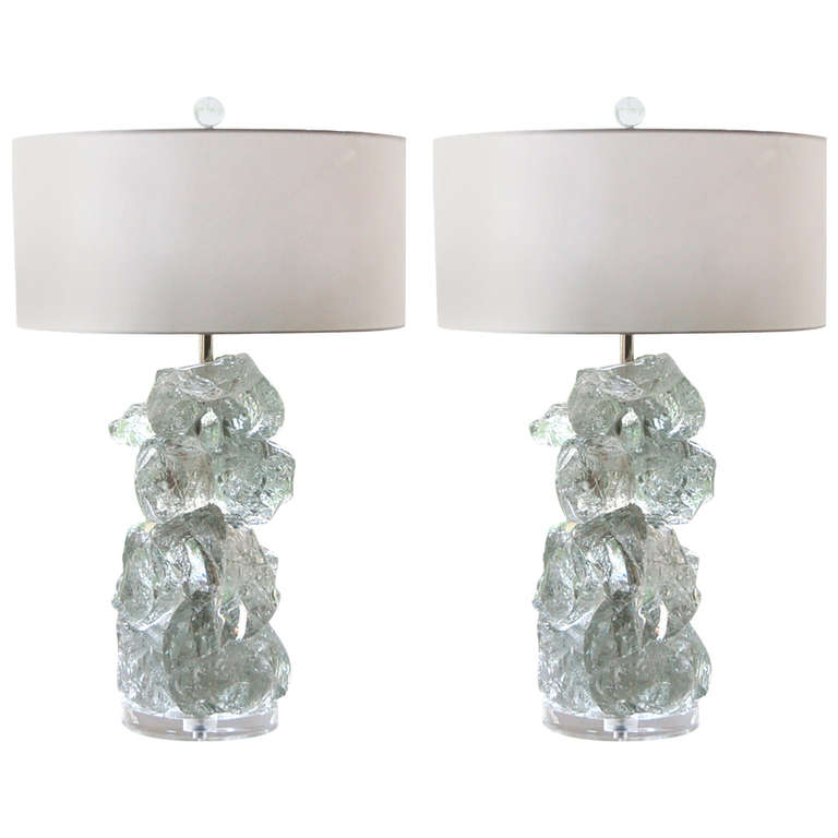 ROCK CANDY Lamps in ARCTIC ICE