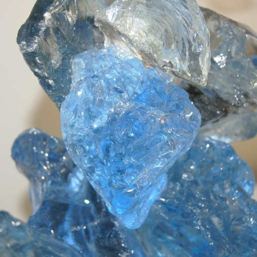 ROCK CANDY Lamps in BLUE CRYSTAL