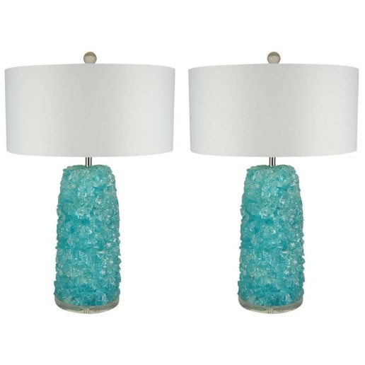 Rock Candy Lamps in AQUA ICE