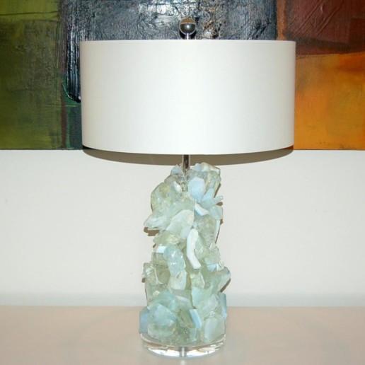 ROCK CANDY Lamps in HONEY OPALINE