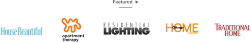 Featured in Apartment Therapy, Residential Lighting, Chicago Home, and more