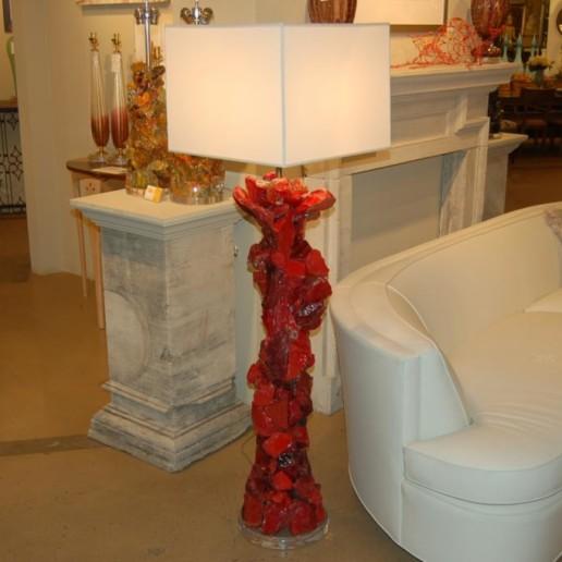 ROCK CANDY Floor Lamp in FIRETRUCK