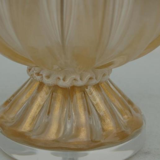 Murano Champagne Wedding Cake Vintage Murano Lamps