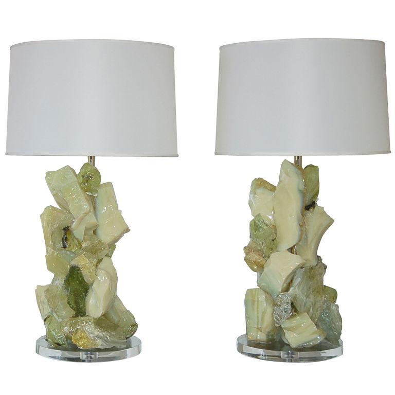 ROCK CANDY Lamps in LEMON CURD